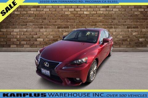 2014 Lexus IS 250 for sale at Karplus Warehouse in Pacoima CA