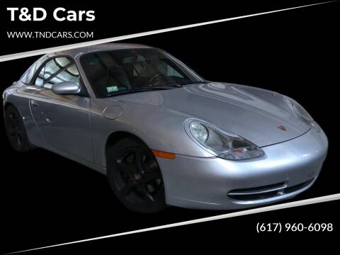 2000 Porsche 911 for sale at T&D Cars in Holbrook MA
