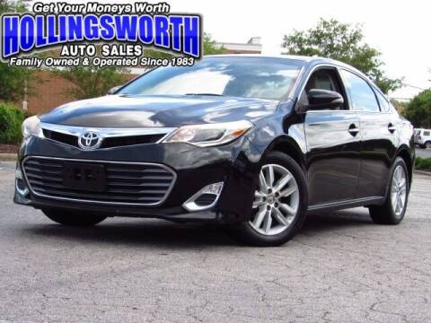 2013 Toyota Avalon for sale at Hollingsworth Auto Sales in Raleigh NC