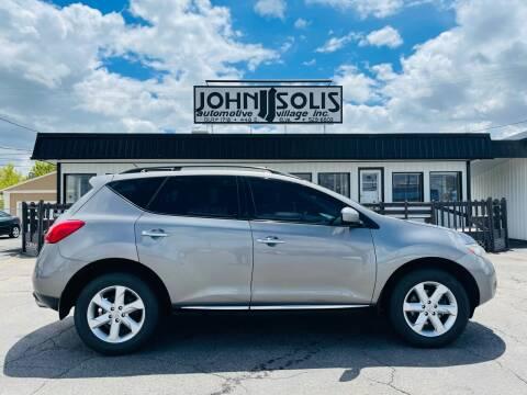 2009 Nissan Murano for sale at John Solis Automotive Village in Idaho Falls ID