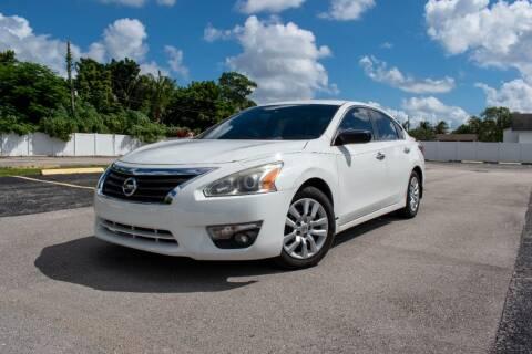 2015 Nissan Altima for sale at Guru Auto Sales in Miramar FL