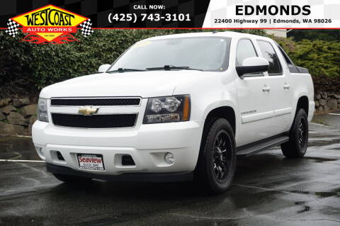 2009 Chevrolet Avalanche for sale at West Coast Auto Works in Edmonds WA
