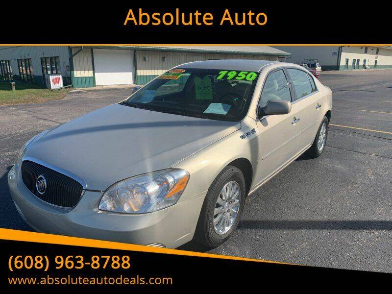 2008 Buick Lucerne for sale at Absolute Auto in Baraboo WI
