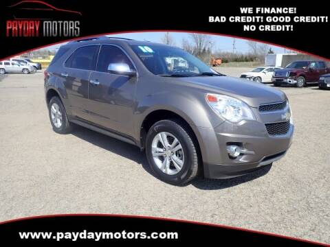 2010 Chevrolet Equinox for sale at Payday Motors in Wichita And Topeka KS