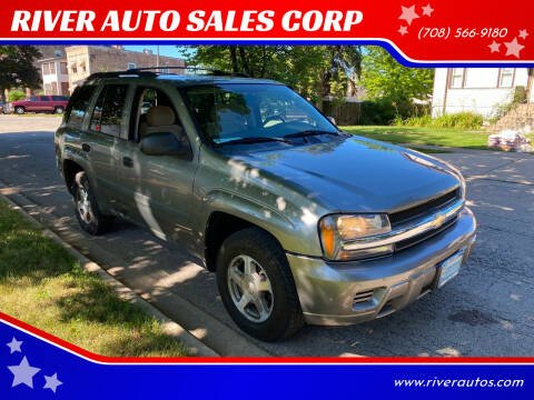 2005 Chevrolet TrailBlazer for sale at RIVER AUTO SALES CORP in Maywood IL