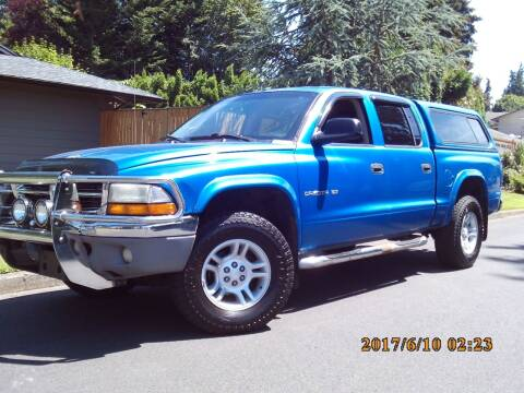 2001 Dodge Dakota for sale at Redline Auto Sales in Vancouver WA