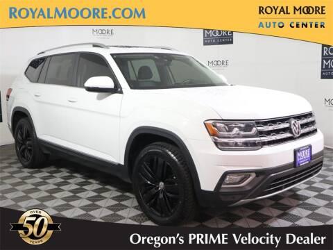 2018 Volkswagen Atlas for sale at Royal Moore Custom Finance in Hillsboro OR