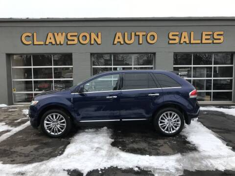 2011 Lincoln MKX for sale at Clawson Auto Sales in Clawson MI
