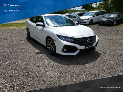 2019 Honda Civic for sale at US-Euro Auto in Burton OH