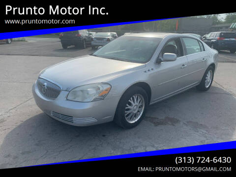 2006 Buick Lucerne for sale at Prunto Motor Inc. in Dearborn MI