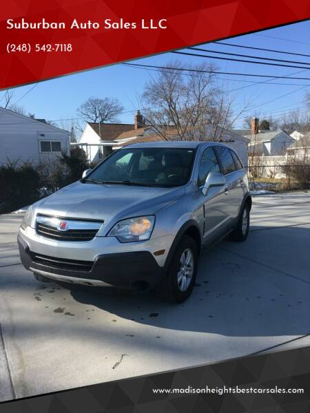 2008 Saturn Vue for sale at Suburban Auto Sales LLC in Madison Heights MI
