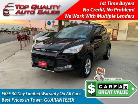 2013 Ford Escape for sale at Top Quality Auto Sales in Redlands CA