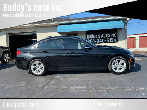 2016 BMW 3 Series for sale at Buddy's Auto Inc in Pendleton, SC