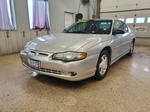 2002 Chevrolet Monte Carlo for sale at Sand's Auto Sales in Cambridge MN
