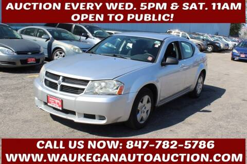 2010 Dodge Avenger for sale at Waukegan Auto Auction in Waukegan IL
