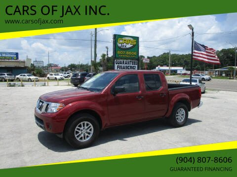 2019 Nissan Frontier for sale at CARS OF JAX INC. in Jacksonville FL