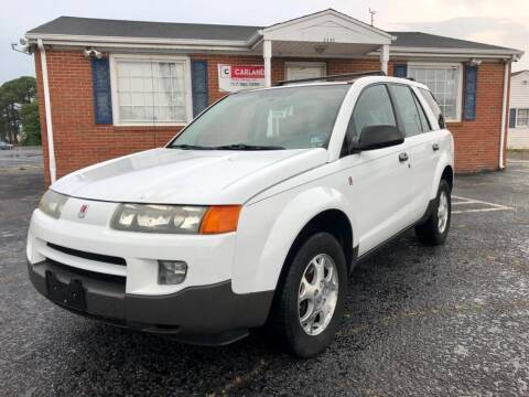 2003 Saturn Vue for sale at Carland Auto Sales INC. in Portsmouth VA