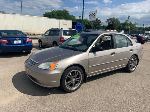 2001 Honda Civic for sale at Peak Motors in Loves Park IL