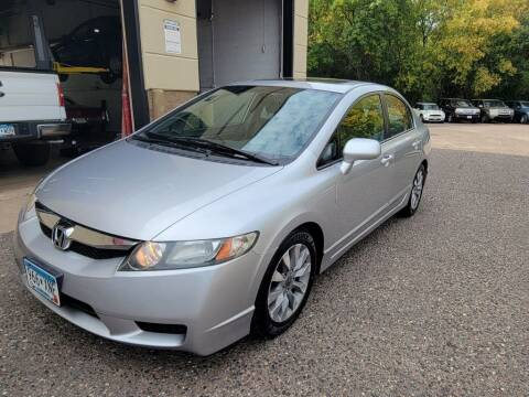 2011 Honda Civic for sale at Fleet Automotive LLC in Maplewood MN