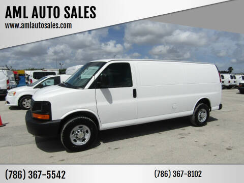 2013 Chevrolet Express Cargo for sale at AML AUTO SALES - Cargo Vans in Opa-Locka FL