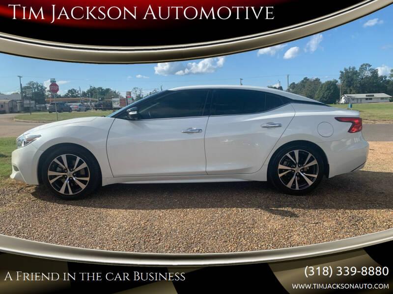 2017 Nissan Maxima for sale at Tim Jackson Automotive in Jonesville LA