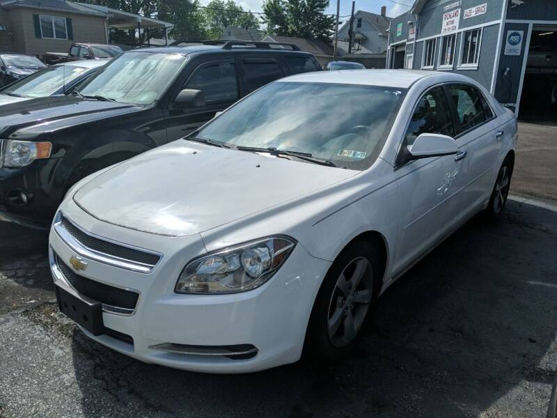 2012 Chevrolet Malibu for sale at Richland Motors in Cleveland OH