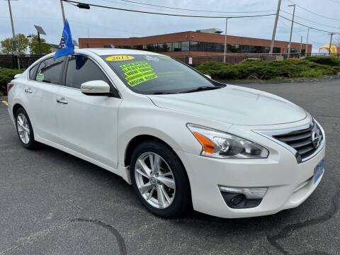 2013 Nissan Altima for sale at Fields Corner Auto Sales in Dorchester MA