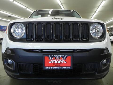 2015 Jeep Renegade for sale at 121 Motorsports in Mt. Zion IL