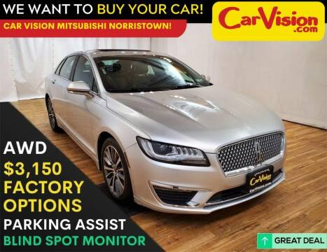 2017 Lincoln MKZ for sale at Car Vision Mitsubishi Norristown in Trooper PA