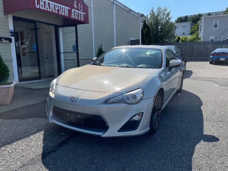 2013 Scion FR-S for sale at Champion Auto LLC in Quincy MA