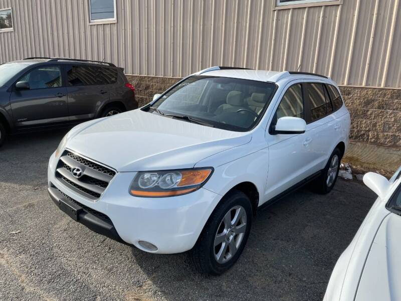 2008 Hyundai Santa Fe for sale at Randys Auto Sales in Gardner MA