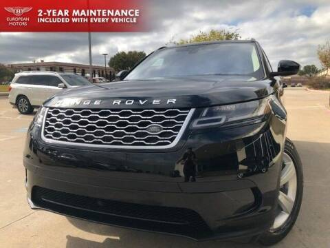 2018 Land Rover Range Rover Velar for sale at European Motors Inc in Plano TX