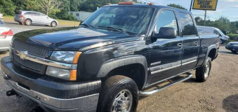 2004 Chevrolet Silverado 2500HD for sale at Russo's Auto Exchange LLC in Enfield CT