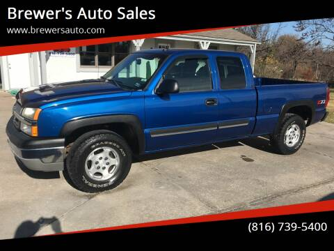 2003 Chevrolet Silverado 1500 for sale at Brewer's Auto Sales in Greenwood MO