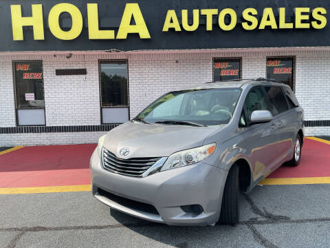 2013 Toyota Sienna for sale at HOLA AUTO SALES CHAMBLEE- BUY HERE PAY HERE - in Atlanta GA