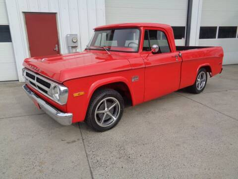 1970 Dodge D100 Pickup for sale at Lewin Yount Auto Sales in Winchester VA