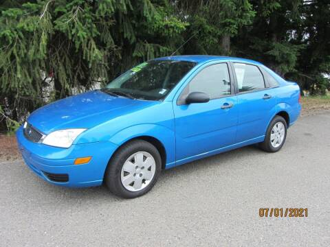 2007 Ford Focus for sale at B & C Northwest Auto Sales in Olympia WA