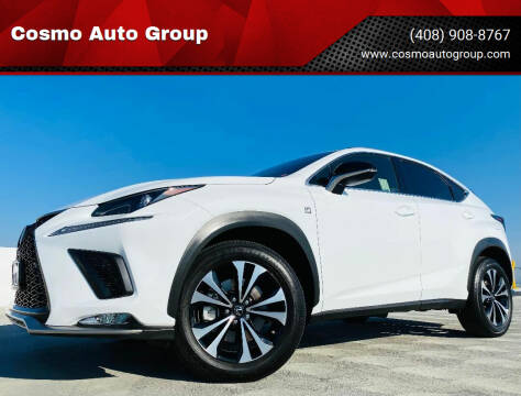 2021 Lexus NX 300 for sale at Cosmo Auto Group in San Jose CA