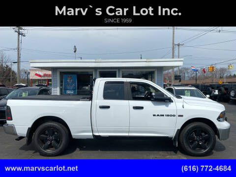 2012 RAM Ram Pickup 1500 for sale at Marv`s Car Lot Inc. in Zeeland MI