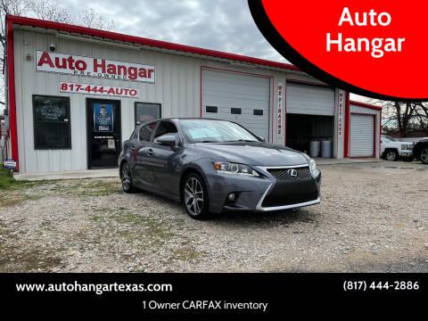 2014 Lexus CT 200h for sale at Auto Hangar in Azle TX