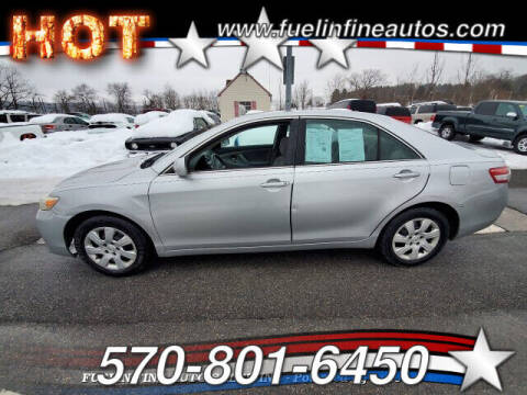 2010 Toyota Camry for sale at FUELIN FINE AUTO SALES INC in Saylorsburg PA
