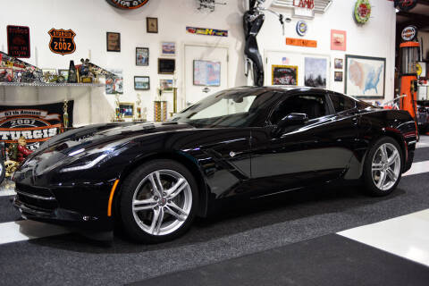 2017 Chevrolet Corvette for sale at Crystal Motorsports in Homosassa FL