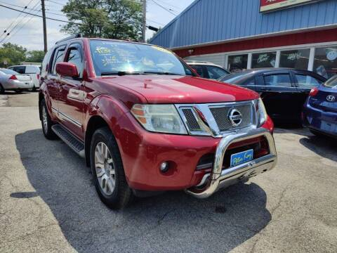 2010 Nissan Pathfinder for sale at Peter Kay Auto Sales in Alden NY