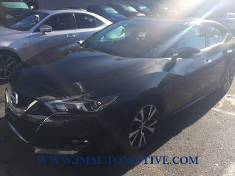 2016 Nissan Maxima for sale at J & M Automotive in Naugatuck CT