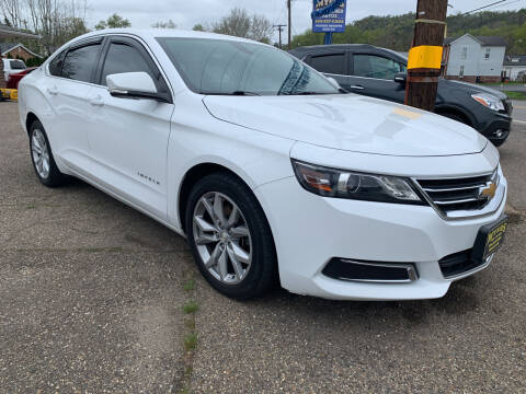 2016 Chevrolet Impala for sale at MYERS PRE OWNED AUTOS & POWERSPORTS in Paden City WV