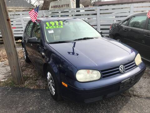 2005 Volkswagen Golf for sale at Klein on Vine in Cincinnati OH