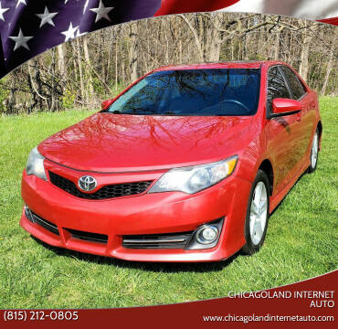 2013 Toyota Camry for sale at Chicagoland Internet Auto - 410 N Vine St New Lenox IL, 60451 in New Lenox IL
