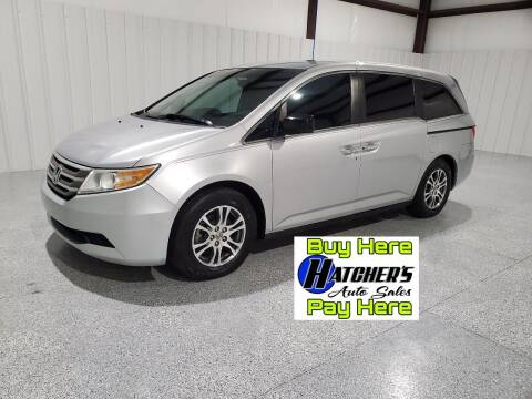 2011 Honda Odyssey for sale at Hatcher's Auto Sales, LLC in Campbellsville KY