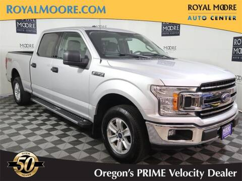 2018 Ford F-150 for sale at Royal Moore Custom Finance in Hillsboro OR