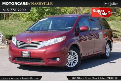 2012 Toyota Sienna for sale at MotorCars of Nashville in Mount Juliet TN
